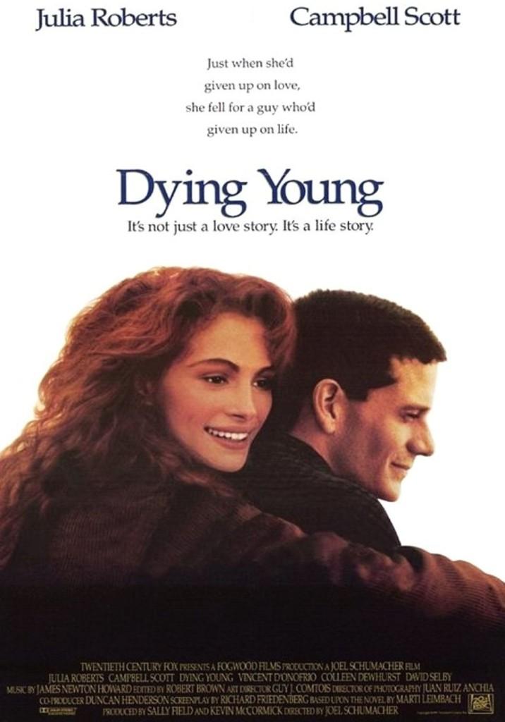 Умереть молодым / Dying Young (1991): постер