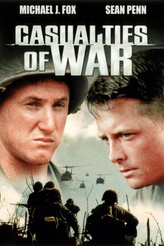 Военные потери / Casualties of War (1989): постер
