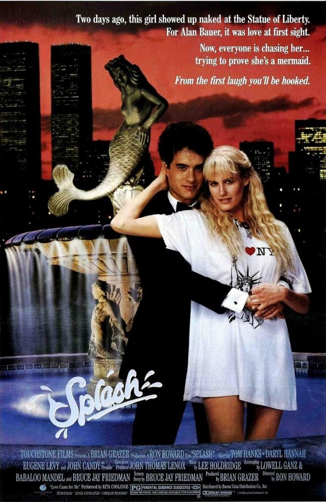 Всплеск / Splash (1984): постер