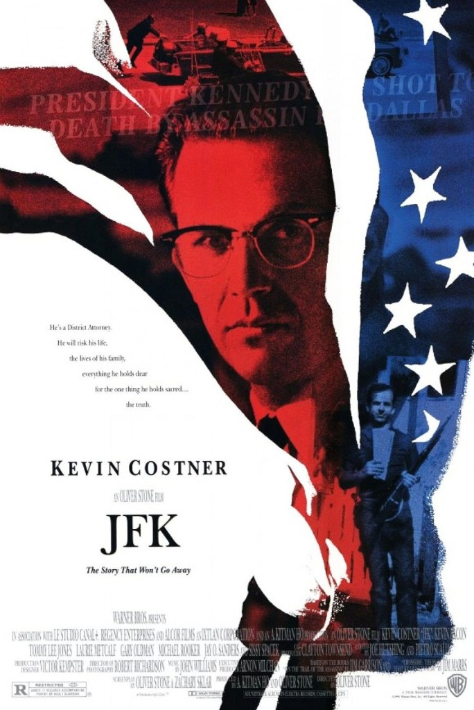 Джон Ф. Кеннеди: Выстрелы в Далласе / JFK (1991): постер