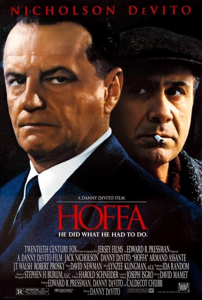 Хоффа / Hoffa (1992): постер