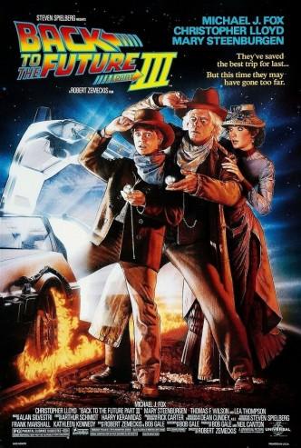 Назад в будущее 3 / Back to the Future Part III (1990): постер