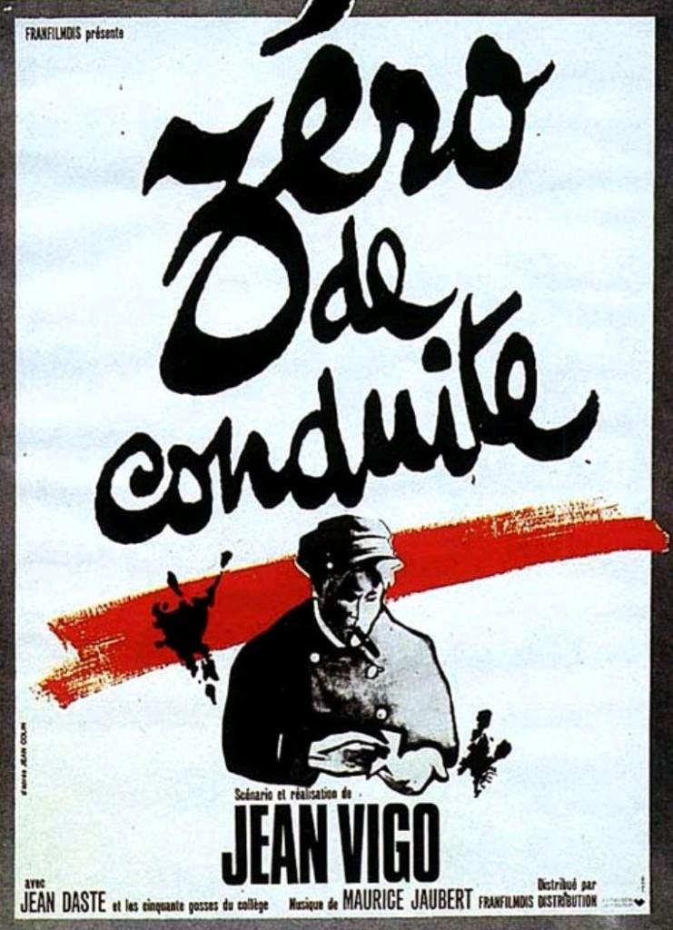 Ноль за поведение / Zéro de conduite: Jeunes diables au college (1933): постер