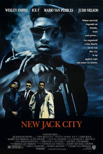 Нью-Джек-Сити / New Jack City (1991): постер
