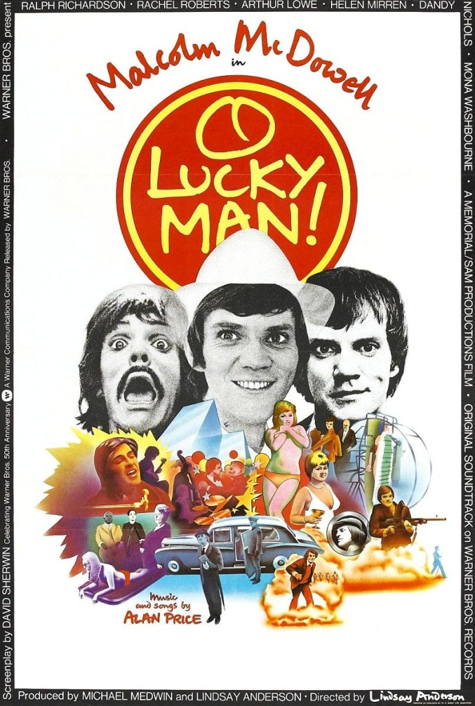 О, счастливчик! / O Lucky Man! (1973): постер