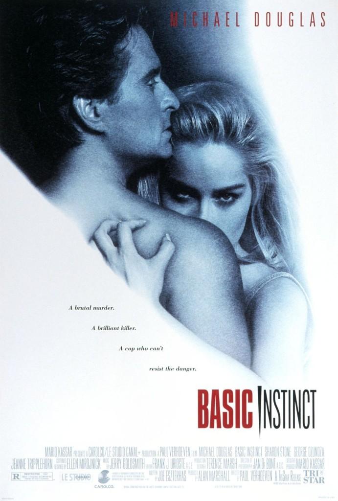 Основной инстинкт / Basic Instinct (1992): постер