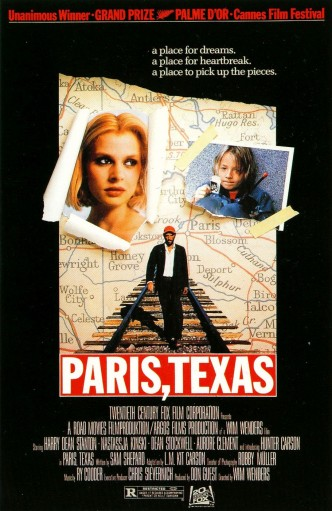 Париж, Техас / Paris, Texas (1984): постер