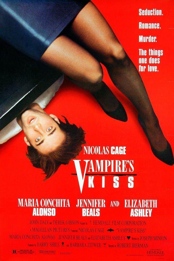 Поцелуй вампира / Vampire's Kiss (1988): постер