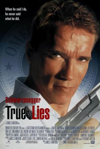 Правдивая ложь / True Lies (1994): постер