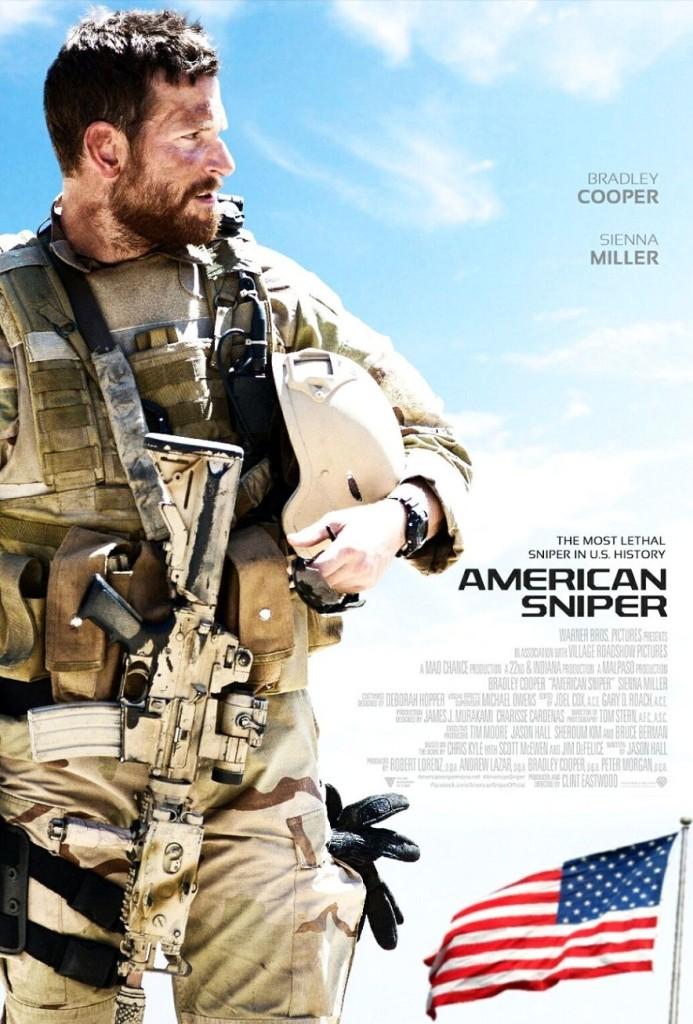 Снайпер / American Sniper (2014): постер