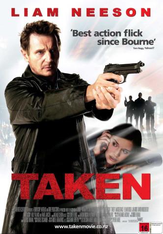 Заложница / Taken (2008): постер
