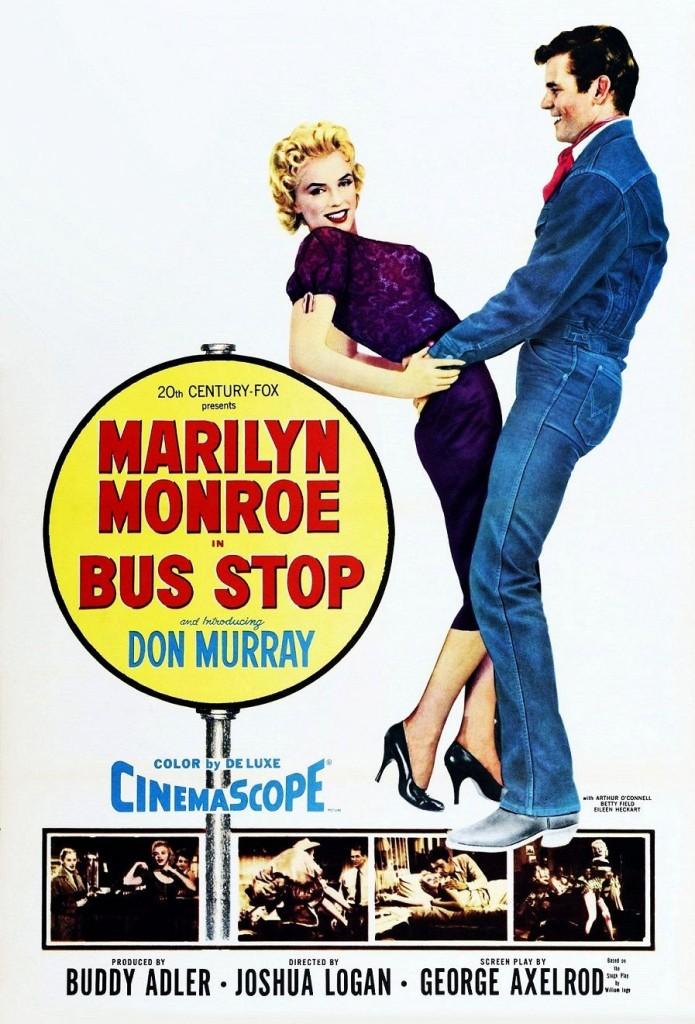Автобусная остановка / Bus Stop (1956): постер