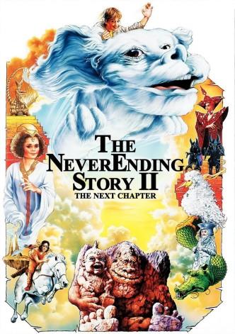 Бесконечная история 2 / The Neverending Story II: The Next Chapter (1990): постер