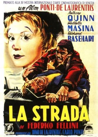 Дорога / La strada (1954): постер
