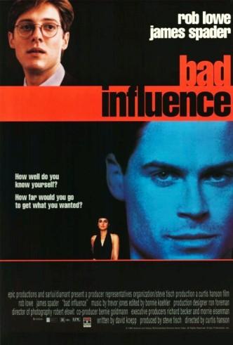 Дурное влияние / Bad Influence (1990): постер