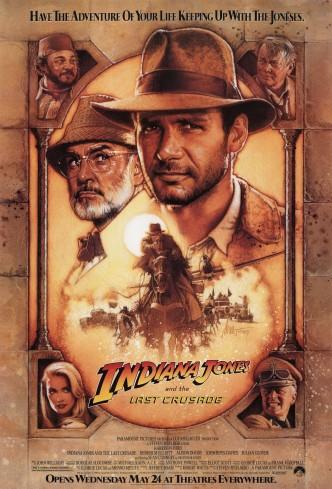 Индиана Джонс и последний крестовый поход / Indiana Jones and the Last Crusade (1989): постер