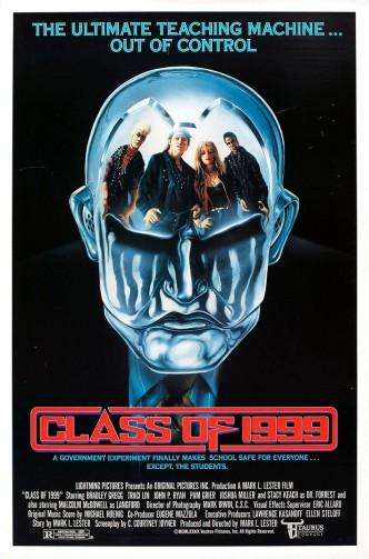 Класс-1999 / Class of 1999 (1990): постер