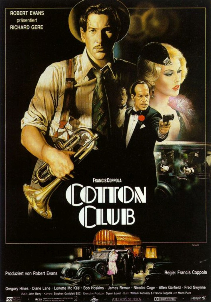 Клуб «Коттон» / The Cotton Club (1984): постер