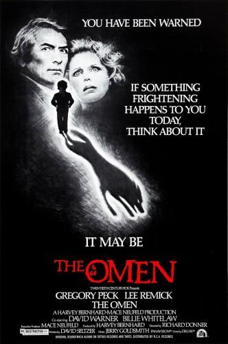 Омен / The Omen (1976): постер
