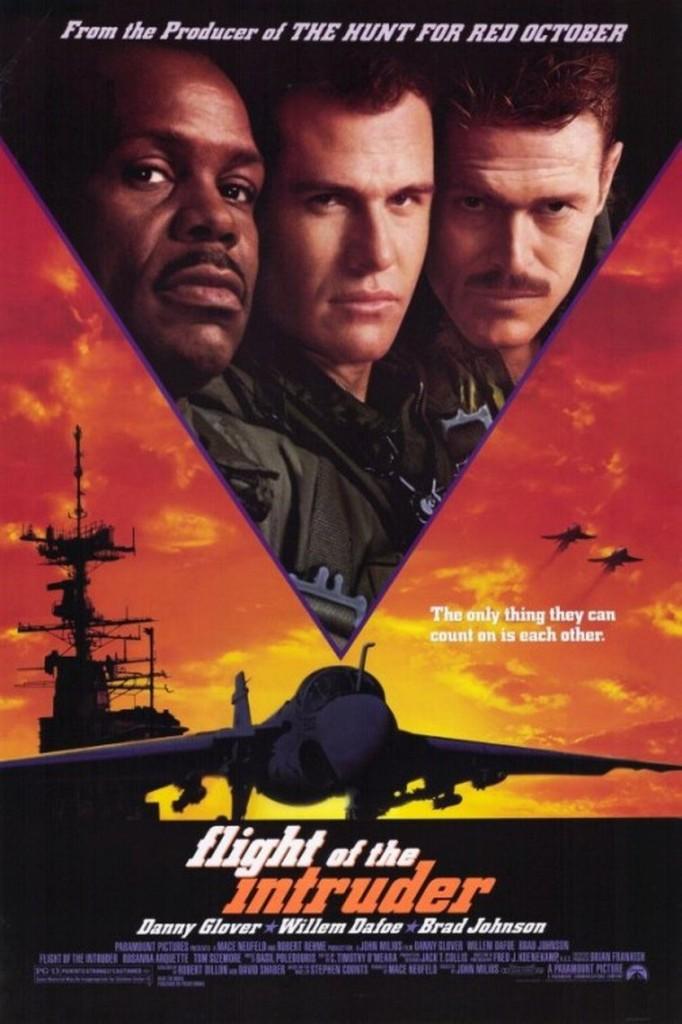 Полёт «Интрудера» / Flight of the Intruder (1991): постер