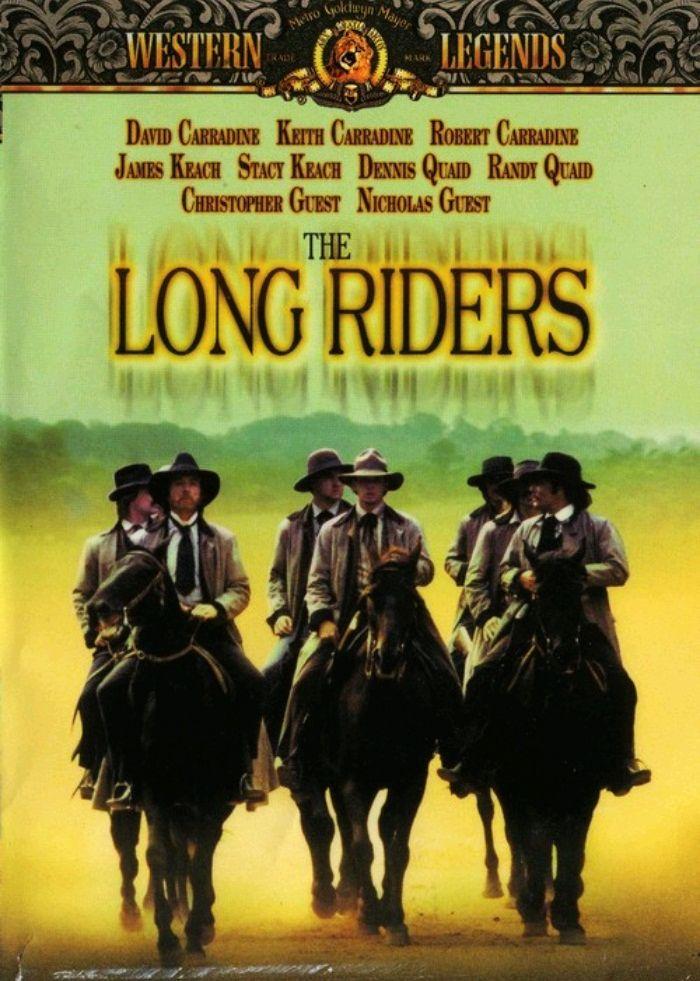 Скачущие издалека / The Long Riders (1980): постер
