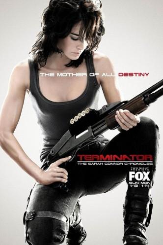 Терминатор: Битва за будущее / Terminator: The Sarah Connor Chronicles (2008-2009) (телесериал): постер