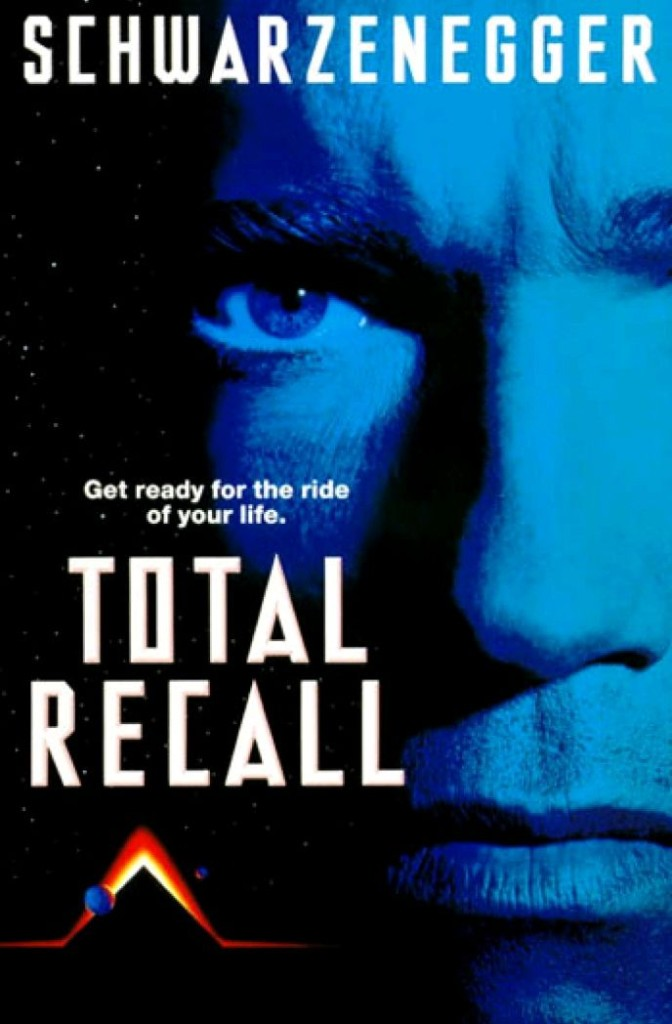 Вспомнить всё / Total Recall (1990): постер