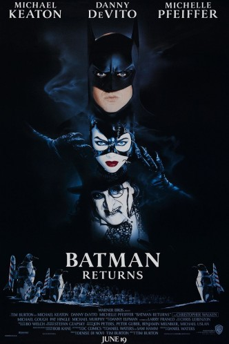Бэтмен возвращается / Batman Returns (1992): постер