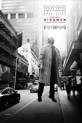 Бёрдмэн / Birdman: Or (The Unexpected Virtue of Ignorance) (2014): постер