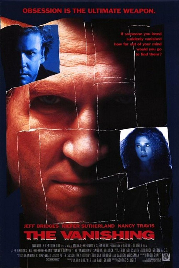 Исчезновение / The Vanishing (1993): постер