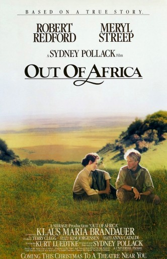 Из Африки / Out of Africa (1985): постер