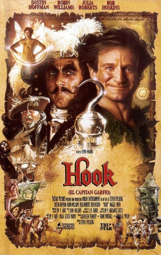 Капитан Крюк / Hook (1991): постер