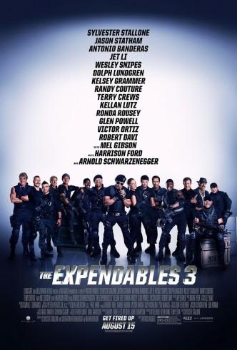 Неудержимые 3 / The Expendables 3 / Expendables 3 (2014): постер