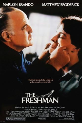 Первокурсник / The Freshman (1990): постер