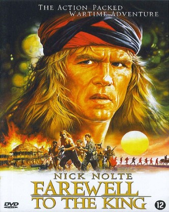Прощание с королём / Farewell to the King (1989): постер