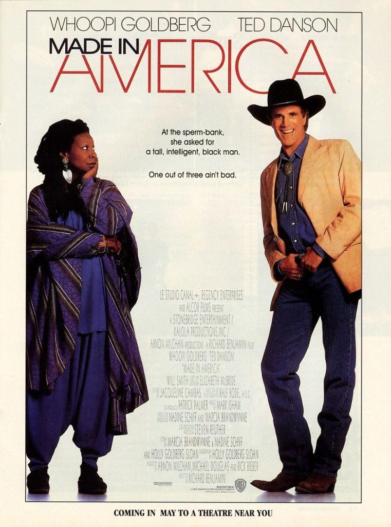 Сделано в Америке / Made in America (1993): постер