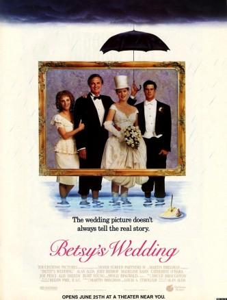 Свадьба Бетси / Betsy's Wedding (1990): постер