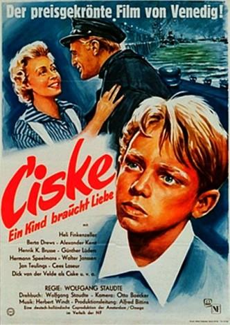 Циске, крыса / Ciske de Rat (1955): постер