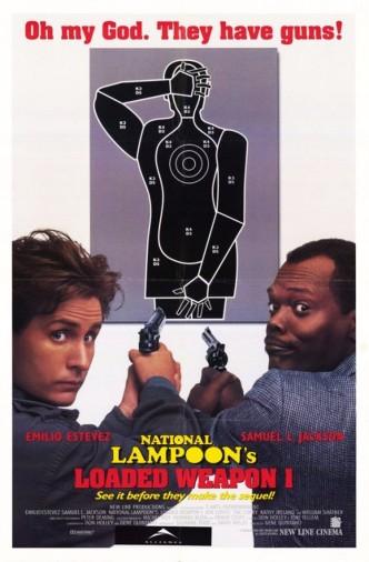Заряженное оружие 1 / Loaded Weapon 1 (1993): постер