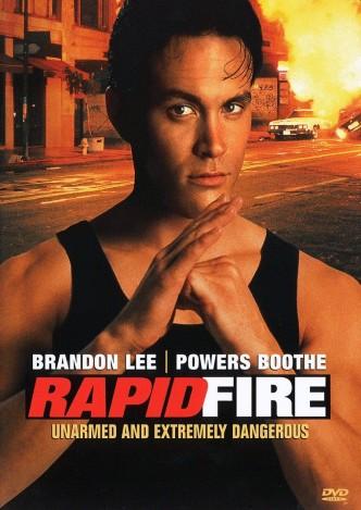 Беглый огонь / Rapid Fire (1992): постер