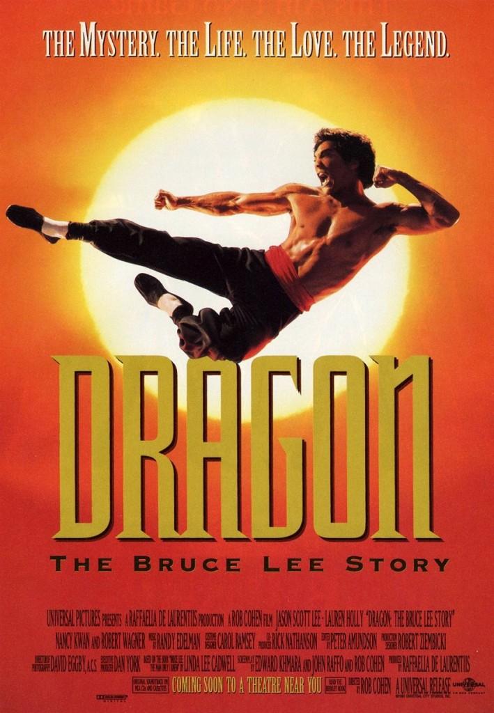 Дракон: История Брюса Ли / Dragon: The Bruce Lee Story (1993): постер