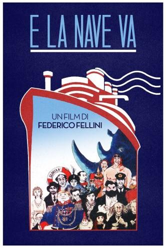 И корабль плывёт… / E la nave va / Et vogue le navire... (1983): постер