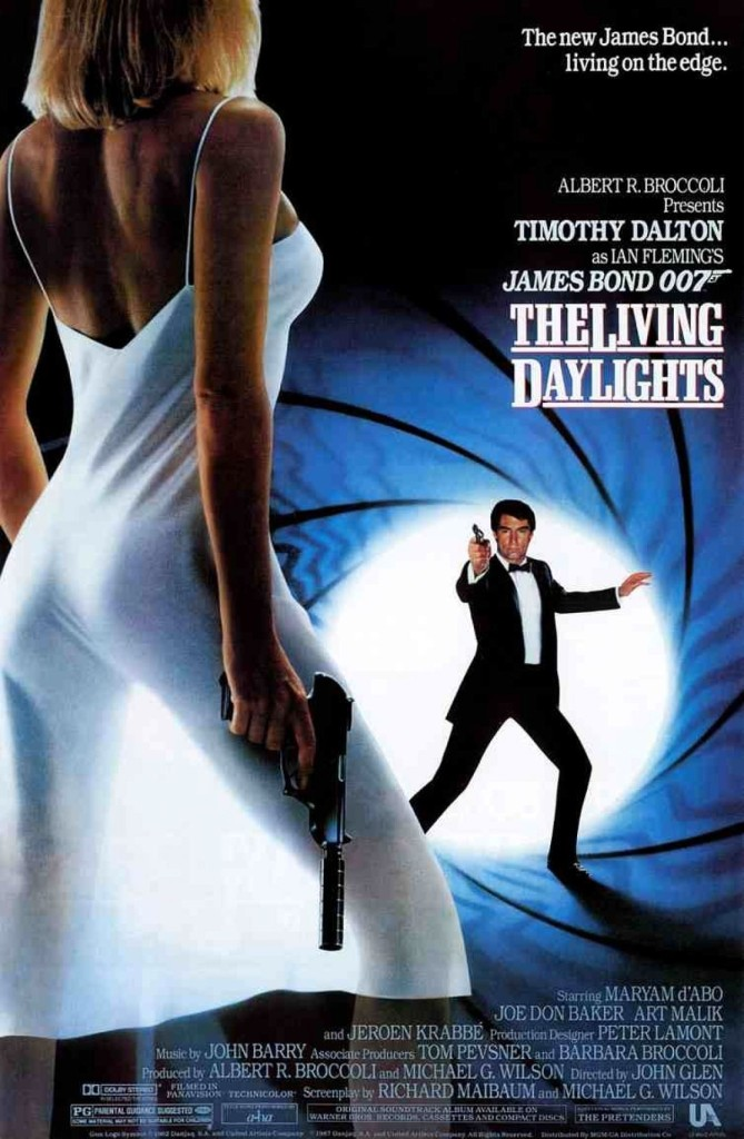 Искры из глаз / The Living Daylights (1987): постер