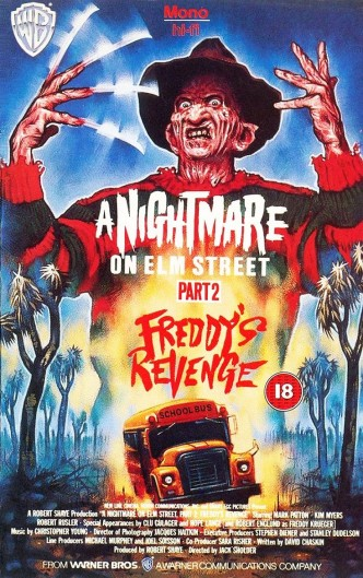 Кошмар на улице Вязов 2: Месть Фредди / A Nightmare on Elm Street Part 2: Freddy's Revenge (1985): постер