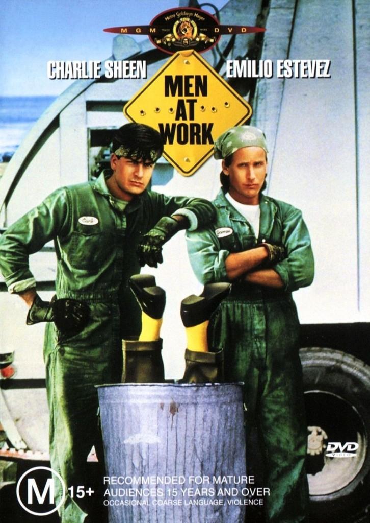 Мужчины за работой / Men at Work (1990): постер