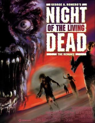Ночь живых мертвецов / Night of the Living Dead (1990): постер