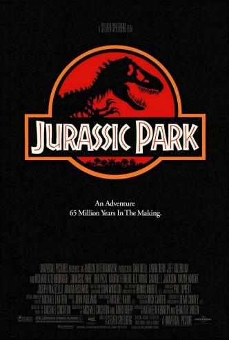 Парк юрского периода / Jurassic Park (1993): постер