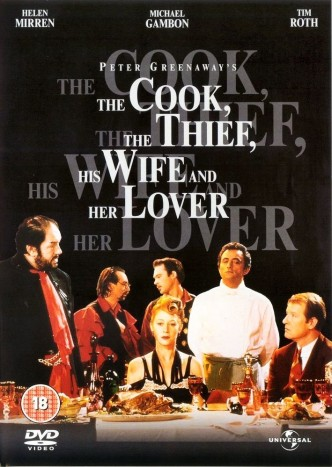Повар, вор, его жена и её любовник / The Cook, the Thief, His Wife & Her Lover / Le cuisinier, le voleur, sa femme et son amant (1989): постер