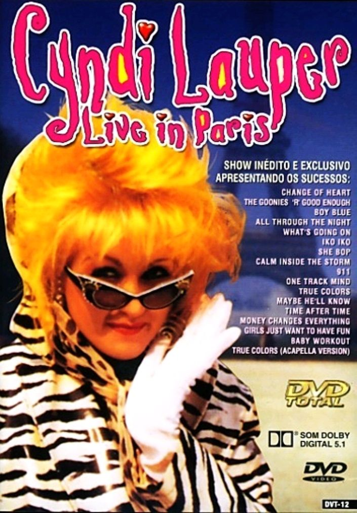 Синди Лопер в Париже / Cyndi Lauper Live in Paris (1987) (видео): постер