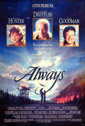 Всегда / Always (1989): постер